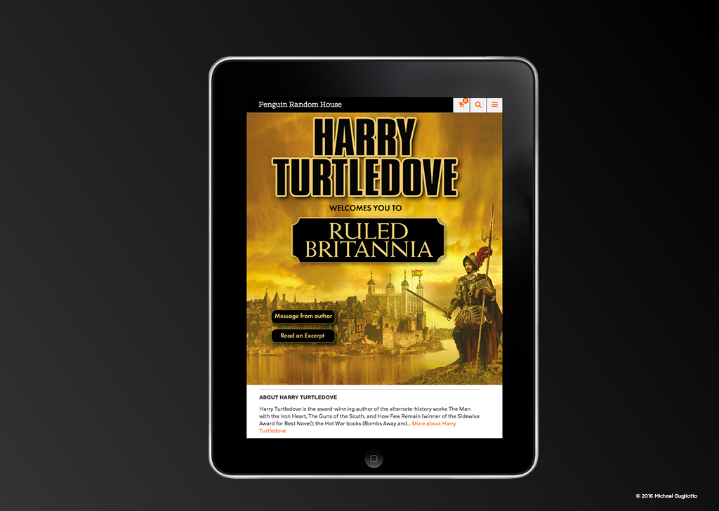 Author Novel Mobile App