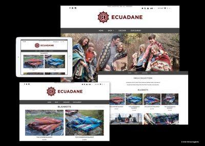Ecuadane Mobile Shopping Website