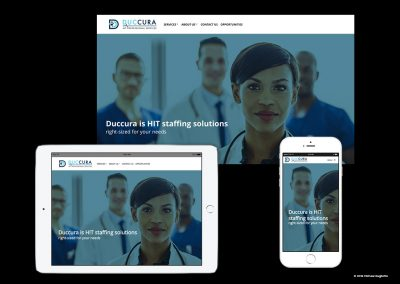 Healthcare Mobile Responsive Website