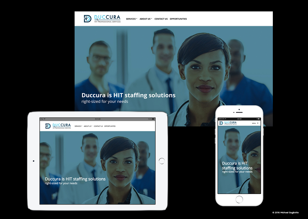 Healthcare Mobile Responsive Website